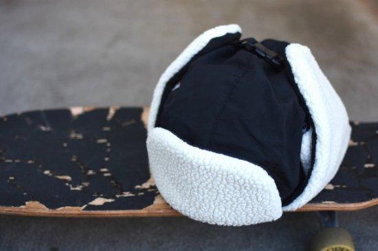 バーラップ アウトフィッター (burlap outfitter) aviator hat  / アビエイターハット black - エンシニータス