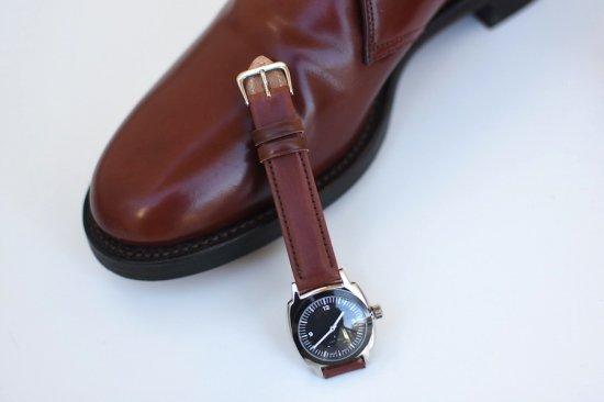 メーカーズ × ヴァーグウォッチ ( makers × vague watch ) fluid / 腕時計 コードヴァン black  × #2 - エンシニータス