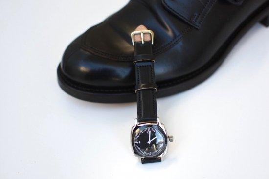 メーカーズ × ヴァーグウォッチ ( makers × vague watch ) fluid / 腕時計 コードヴァン black  × black- エンシニータス