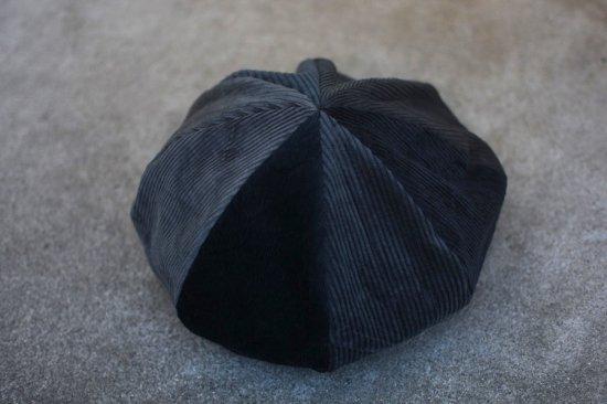 インク (ink) crazy cords beret / コーデュロイ ベレー帽 dark tone type1 ink20aw-22  - エンシニータス
