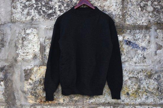 ミリタリー (military) 03' us navy wool gob sweater / 米海軍 ウール モックネックセーター ゴブセーター type1 - エンシニータス