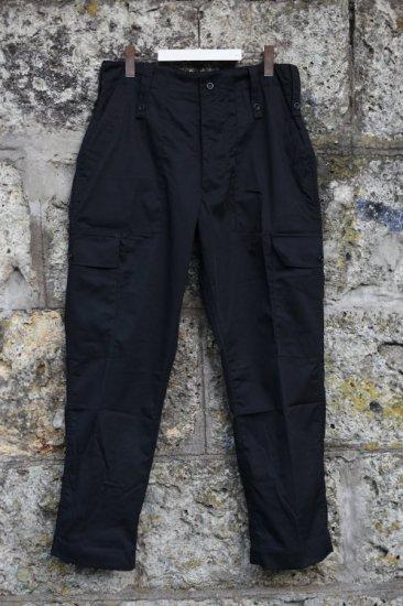 デッドストック ( dead stock) 00's - BRITISH LIGHTWEIGHT FATIGUE PANTS  / イギリス軍 カーゴパンツ SAS BLACK - エンシニータス
