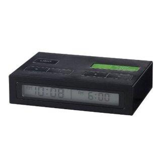 在庫限り!【TKM】ティーケーエム 置き時計 トラベルクロック JETLAG(ライトグレー)・TKM42-BK