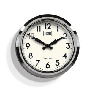 【NEWGATE】掛け時計 50's Electric クローム・GWL44PA