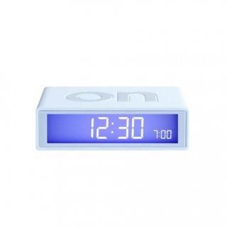 【LEXON】レクソン 置き時計 LEXON アラームクロックFLIP(ホワイト)・LR130B6-WH