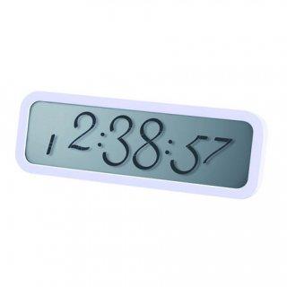 【LEXON】レクソン 置き時計 red dotアワード受賞  LEXON SCRIPT ALARM CLOCK(ホワイト)・LR133W-WH