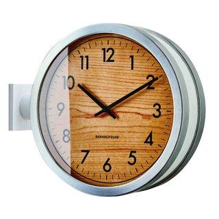 【インターフォルム】置き掛け両用時計 両面時計 Franklinton [ フランクリントン ](ホワイト)・CL-3275WH