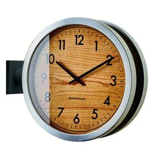 【インターフォルム】置き掛け両用時計 両面時計 Franklinton [ フランクリントン ](ブラック)・CL-3275BK