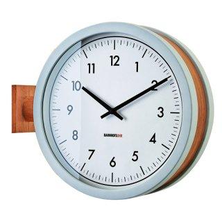 【インターフォルム】置き掛け両用時計 両面時計 Mccarty [ マッカーティ ](ホワイト)・CL-3276WH