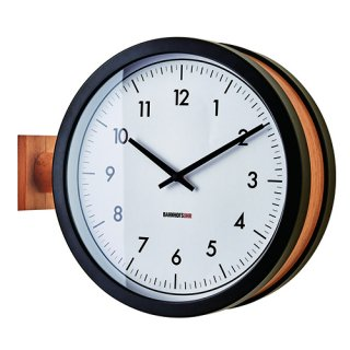 【インターフォルム】置き掛け両用時計 両面時計 Mccarty [ マッカーティ ](ブラック)・CL-3276BK