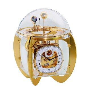 【Hermle】置き時計 Tellurium (ゴールド)・23002-000352