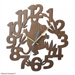 【BRUNO】ブルーノ シンプルと遊び心が調和したムーミンキャラクターの掛け時計 ムーミンシルエットウォールクロック BCW038-MOOMIN(ムーミン)