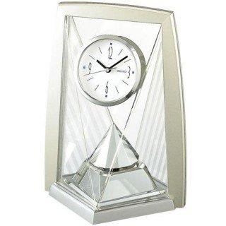 【SEIKO】置き時計 スタンダード(薄金色パール塗装)・BY423S