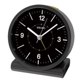 【SEIKO】目覚まし時計 スタンダード(黒)・KR328K