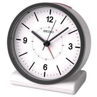 【SEIKO】目覚まし時計 スタンダード(白)・KR328W
