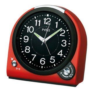 【PYXIS】目覚まし時計 ピクシス(赤塗装)・NQ705R