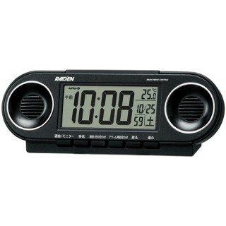【PYXIS】デジタル時計 ライデン(黒メタリック塗装)・NR531K