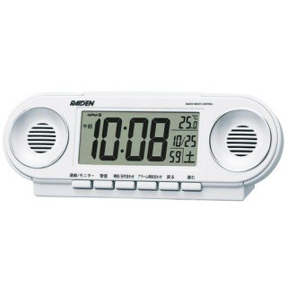 【PYXIS】デジタル時計 ライデン(白パール塗装)・NR531W