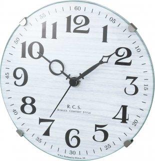 【R.C.S】置き時計 インテリアクロック パドメラミニオールド(ホワイト)