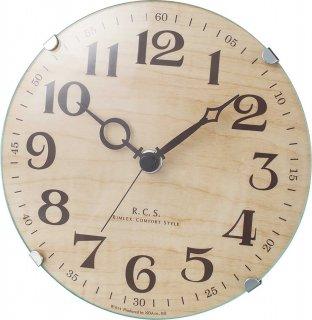 【R.C.S】置き時計 インテリアクロック パドメラミニオールド(ナチュラル)
