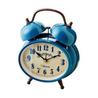 【インターフォルム】目覚まし時計 GREIZ [グライツ](ブルー)・CL-9375BL