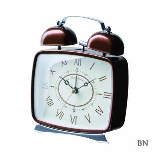 【インターフォルム】目覚まし時計 DIONA [ディオナ](ブラウン)・CL-7554BN