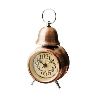 【インターフォルム】目覚まし時計 ORLY [オルリー](ブロンズ)・CL-7994BZ