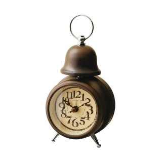 【インターフォルム】目覚まし時計 ORLY [オルリー](ゴールド)・CL-7994GD