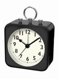 【誠時】目覚まし時計アラームクロックコリル(ブラック)・LW-004BK