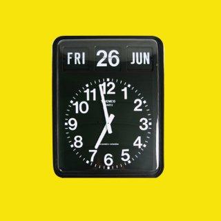 【TWEMCO】掛け時計 BQ-20(ブラック)・TW6011