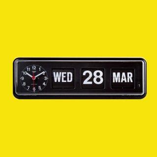 【TWEMCO】置時計 BQ-38(ブラック)・TW6013