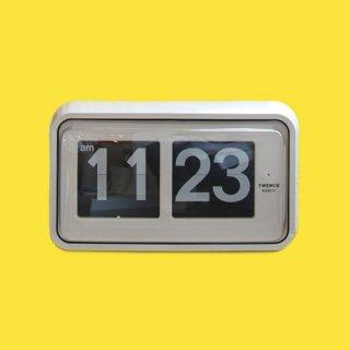 【TWEMCO】置時計 BQ-58(ホワイト)・TW6018