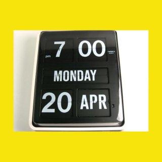 【TWEMCO】掛け時計 BQ-1700(ブラック(ディスプレイ))・TW6023