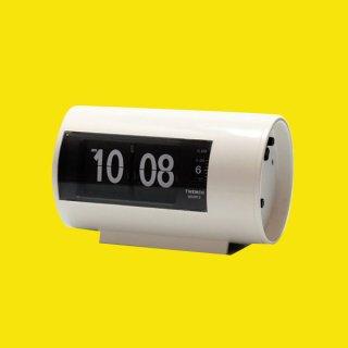 【TWEMCO】置時計 AP-28(ホワイト)・TW6037