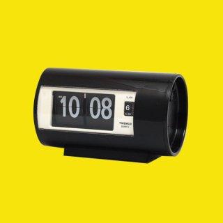 【TWEMCO】置時計 AP-28(ブラック)・TW6038