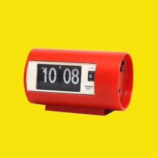 【TWEMCO】置時計 AP-28(レッド)・TW6040