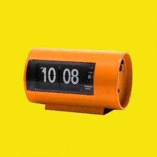【TWEMCO】置時計 AP-28(オレンジ)・TW6041