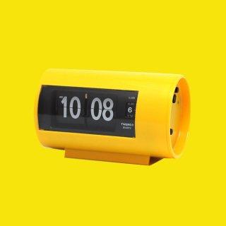 【TWEMCO】置時計 AP-28(イエロー)・TW6042