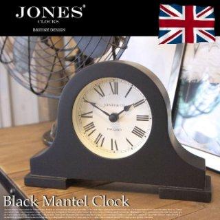 【JONES】置き時計 Blackham Mantel Bk(ブラック)・JSBLA53K