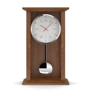 【Oliver Hemming】置き時計 ペンデュラムクロックH350mm Shaker Pendulum Table Clock-SH10(ビーチ)・SH10M2W