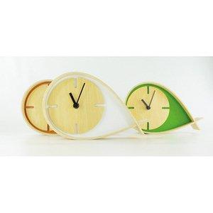 【ヤマト工芸】置き時計TEARSCLOCKS(オレンジ)・YK06-002Or
