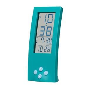 【SMARTEK】目覚まし時計 シースルーアラームクロック(グリーン)・ML-186-YGR