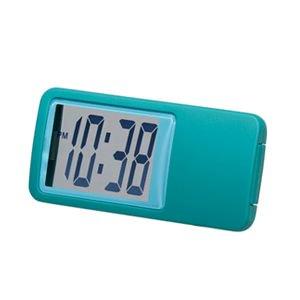 【SMARTEK】置き時計 シースルーミニクロック(グリーン)・ML-235-YGR