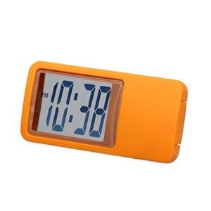 【SMARTEK】置き時計 シースルーミニクロック(オレンジ)・ML-235-YOR