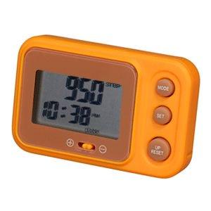 【SMARTEK】歩数計 マルチ歩数計(オレンジ)・MP-106-YOR