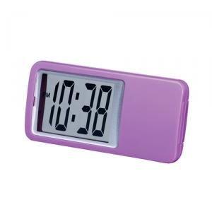 【SMARTEK】置き時計 ミニクロック(パープル)・ML-235-PU