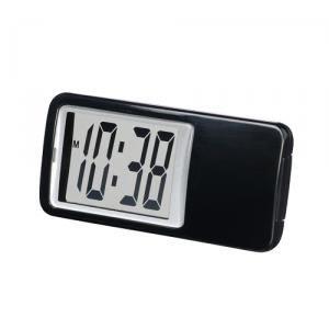 【SMARTEK】置き時計 ミニクロック(ブラック)・ML-235-BK