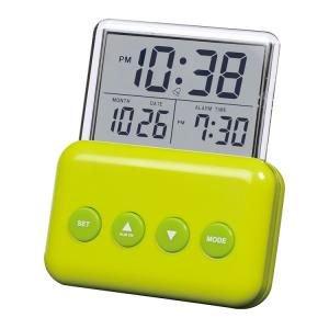 【SMARTEK】目覚まし時計 アラームクロック(グリーン)・ML-937-ZGR