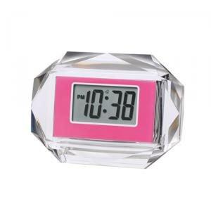 【SMARTEK】目覚まし時計 アラームクロック(ピンク)・ML-935-ZPK