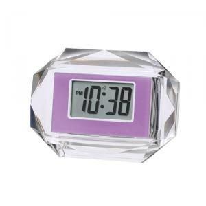 【SMARTEK】目覚まし時計 アラームクロック(パープル)・ML-935-ZPU
